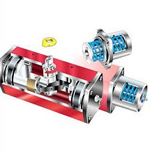 Пневматические поворотные приводы RC200 Wagner Armaturen