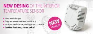 Новая конструкция датчика температуры серии s100 от Sensit