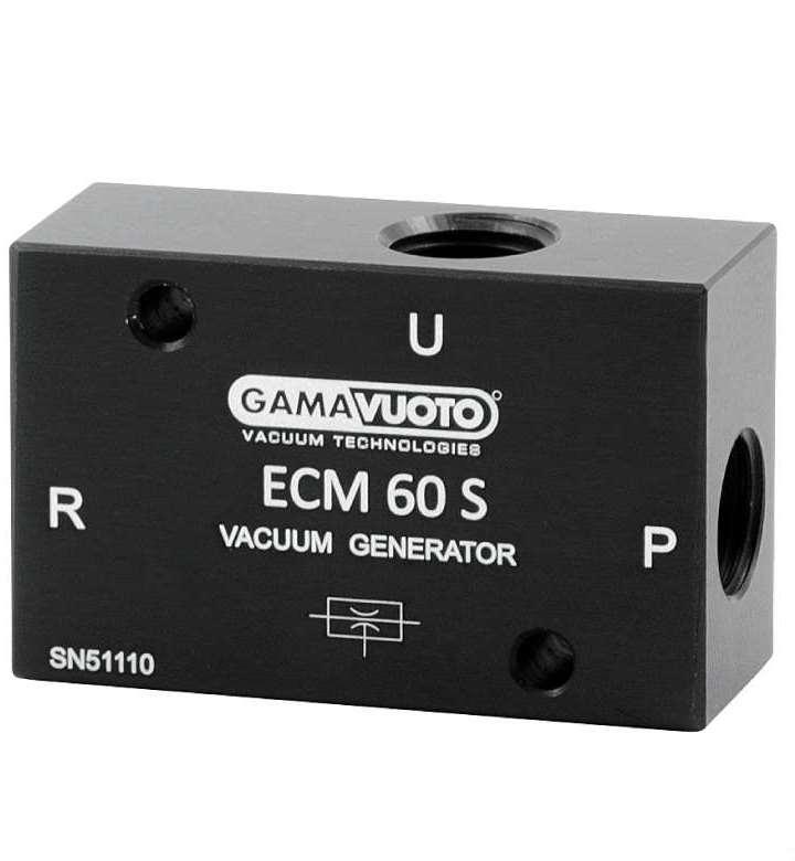 Одноступенчатые вакуумные генераторы Gamavuoto