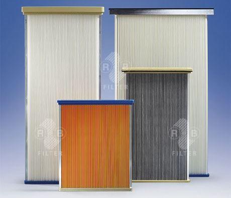 Пылеулавливающие фильтровальные плиты
