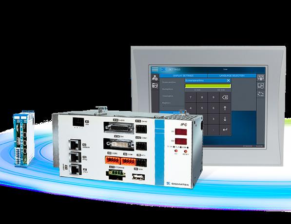 Системы управления и промышленные ПК Sigmatek