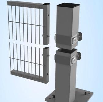 Модульные защитные стены Troax